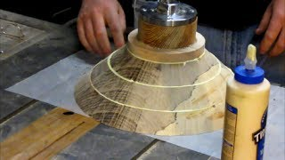 getlinkyoutube.com-#28 Woodturning a Spalted Pecan Economy Bowl Part 2