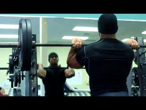 Chad Williams 2013 Workout & Training - Long Version
