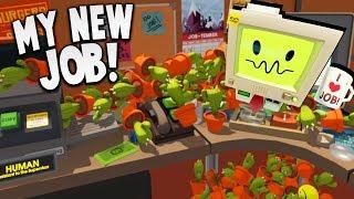 I CLONED HUNDREDS OF CACTUS AT MY NEW JOB! | Job Simulator (HTC Vive VR Gameplay)