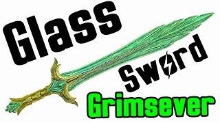 getlinkyoutube.com-Skyrim: How to get Glass Weapon (Unique Grimsever Sword Location)