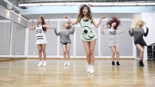 getlinkyoutube.com-HELLO VENUS - Wiggle Wiggle - mirrored dance practice video - 헬로비너스 위글위글