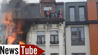 getlinkyoutube.com-VIDEO COMPLETE de l'Explosion au boulevard Anspach à Bruxelles (1/06/13)