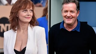 getlinkyoutube.com-Susan Sarandon Trolls Piers Morgan Trolls With Boobs