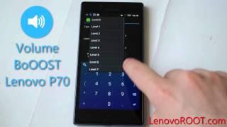 getlinkyoutube.com-Speaker volume boost Lenovo P70 with Engineer Mode