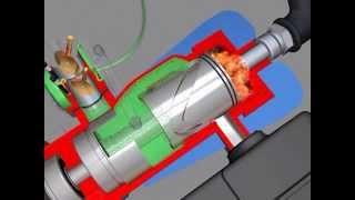 getlinkyoutube.com-3D фильм. Безшатунный Двигатель. The non-standard engine.