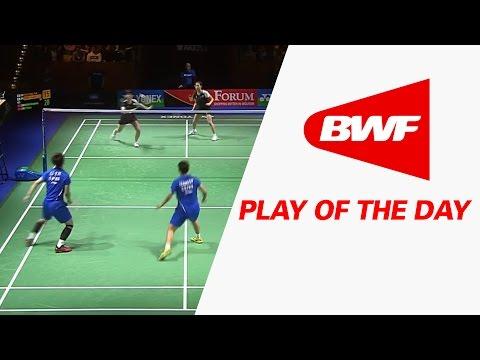 Play Of The Day | Badminton F - Yonex German Open 2017