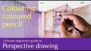 getlinkyoutube.com-Coloured pencils...rendering process