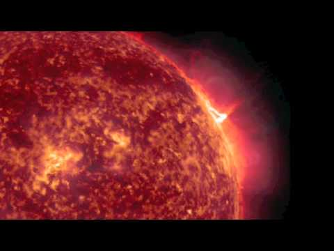NASA SDO - X2-class Solar Flare, January 27, 2012