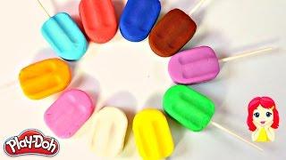 getlinkyoutube.com-Plastilina Play-Doh Paletas de Colores|Play-Doh Learn Colors|Mundo de Juguetes