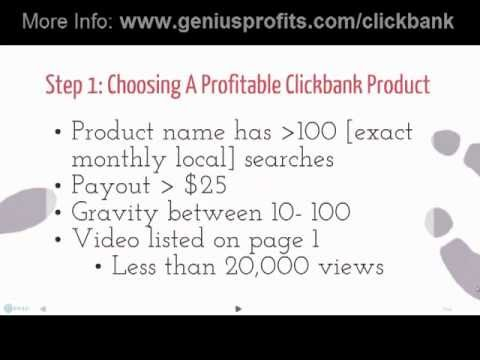How To Make Money With Clickbank - Step by Step Tutorial