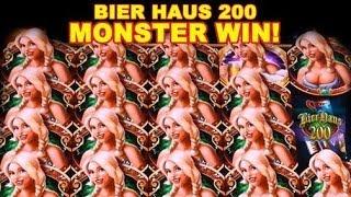 getlinkyoutube.com-🍻🍻🍻MONSTER Win on Bier Haus 200!! - WMS***