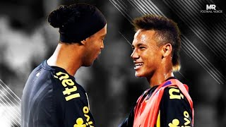 getlinkyoutube.com-Batalha de Dribles: Ronaldinho Gaúcho vs Neymar Jr ● Freestyle