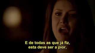 getlinkyoutube.com-The Vampire Diaries - Elena escolhe ficar com Damon. E Stefan decide ir embora.__Graduation 4x23