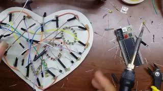 getlinkyoutube.com-Hướng dẫn chi tiết cách làm hộp quà LED trái tim đơn giản, đẹp và tiết kiệm