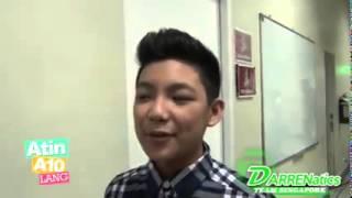 Bukod kay Cassy Legazpi,sino pa ba ang crush ni DARREN ESPANTO