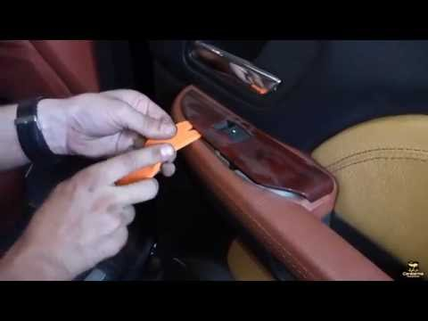 How to remove the door trim Cadillac Escalade Как снять обшивку двери