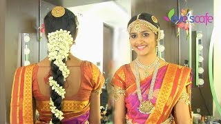 getlinkyoutube.com-Traditional Bridal Makeup South Indian Bride