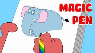 Rat-A-Tat   Chotoonz Kids Funny Cartoon Videos   'Don Magic Pen'