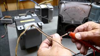 getlinkyoutube.com-Vacuum Tube Output Transformer Measurements Determining Turns & Impedance Ratio & Matching To Tubes