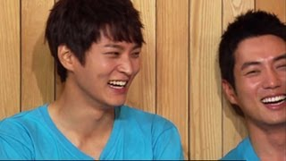 getlinkyoutube.com-Happy Together - Handsome Guy Special with Joo Won, Ju Sanguk, Kim Youngkwang & more! (2013.08.21)