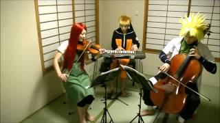 getlinkyoutube.com-【ナルトリオ】NARUTO疾風伝サントラをうずまき一家で演奏してみた【NARUTORIO】NARUTO Shippuden Soundtrack