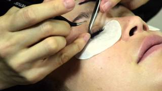 Lash extensions - achieve thick luscious lashes with Glenn Nutley
