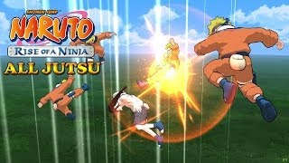 getlinkyoutube.com-Naruto Rise of a Ninja All Jutsu [1080p HD]