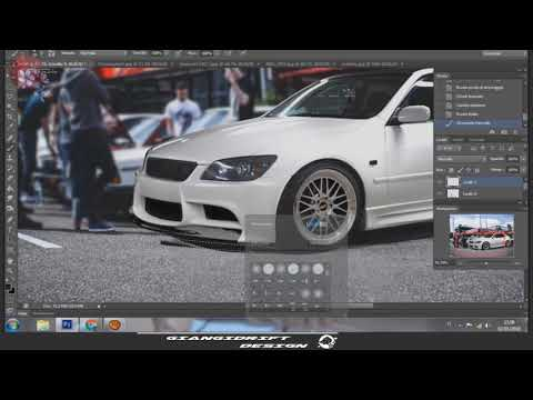 Lexus IS 300 Virtual Tuning Photoshop