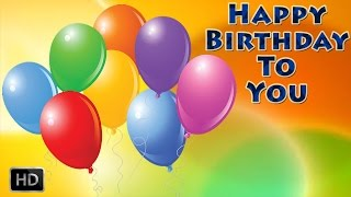 getlinkyoutube.com-Happy Birthday To You - Popular BIRTHDAY SONG - Party Song For Children