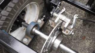 getlinkyoutube.com-Rigid frame go kart build slideshow