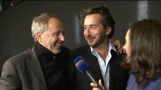 Interview cocasse d'Edouard Baer et Fabrice Luchini