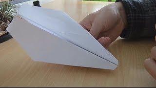 getlinkyoutube.com-Bester Papierflieger - einfach zu bauen