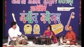Vidushi Seema Shirodkar Raag Vachaspati - Jhala.