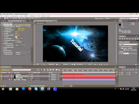 After Effects Tutorial: Creare sigla Animata