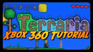 Terraria: SUPER SAIYAN TUTORIAL MODE! (Xbox 360)