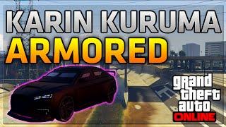 getlinkyoutube.com-GTA 5 Online: *NEW* KARIN KURUMA ARMORED! How To Unlock & Customization Guide (GTA 5 Heist DLC)