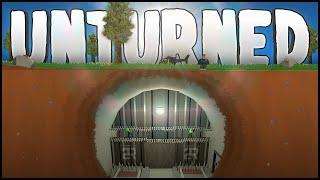 getlinkyoutube.com-SUPER SECURE UNDERGROUND BASE! (Unturned Building)