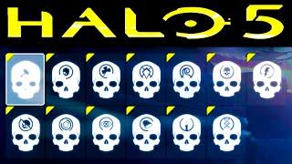 getlinkyoutube.com-HALO 5 | ALL SKULL LOCATIONS (Halo 5 Guardians Skulls)