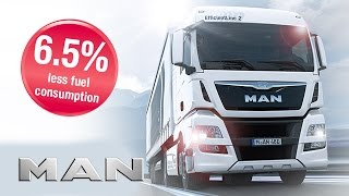 getlinkyoutube.com-MAN TGX EfficientLine 2 - Comparison Drive - 6.5 % less fuel