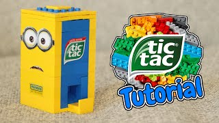 getlinkyoutube.com-How to Build a LEGO Minion Tic Tac Candy Machine!