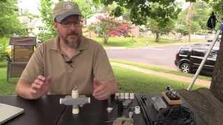 getlinkyoutube.com-W4EDF Portable Dipole Antenna Center Support