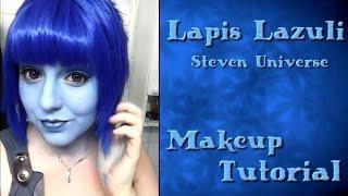 getlinkyoutube.com-Lapis Lazuli (Steven Universe) - Makeup Tutorial