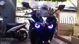 getlinkyoutube.com-YAMAHA R25 PROJECTOR HEADLIGHT MODIFICATION
