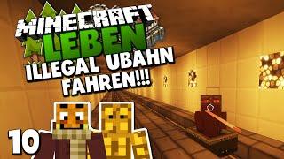 getlinkyoutube.com-ILLEGAL U-BAHN FAHREN! & LEBT EDGAR WIEDER?! ✪ Minecraft LEBEN #10   Paluten
