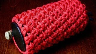 getlinkyoutube.com-A Chain Sinnet Paracord Pouch