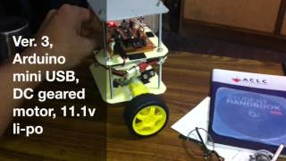 getlinkyoutube.com-Self Balancing Robot using Arduino USB mini and MPU6050