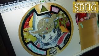 getlinkyoutube.com-【全ての妖怪を】DX妖怪ウォッチ&DX零式対応 オールマイティメダル作ってみた【これ1枚で召喚可能!】