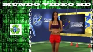 getlinkyoutube.com-Ganó Venezuela y Cumplió Su Promesa Presentadora Se DESNUDA Por victoria ante Colombia CHILE 20151