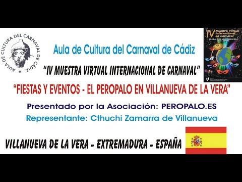 FIESTAS Y EVENTOS EL PEROPALO EN VILLANUEVA DE LA VERA