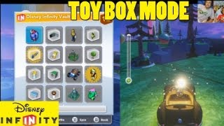 getlinkyoutube.com-Exploring Toy Box Mode (1st Try) Part 1 - Lets Play Disney Infinity Creatively
